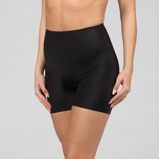 Spanx Women's Black with Zebra Lining Shaper Shorts (Pack of 3)