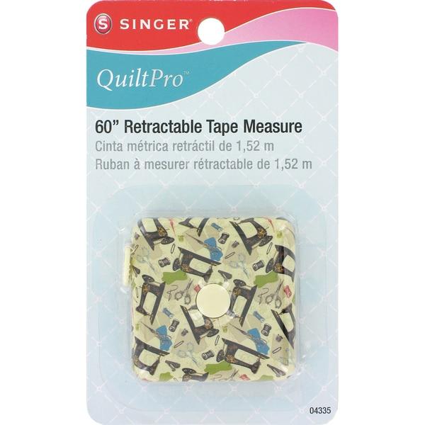 """QuiltPro 60"""" Retractable Tape Measure-"""