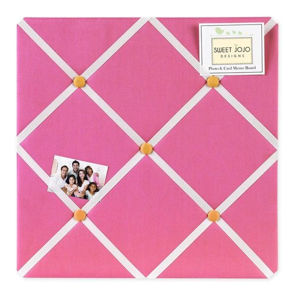 Sweet JoJo Designs Pink and Orange Butterfly Bulletin Board