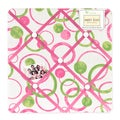 Sweet JoJo Designs Pink and Green Circles Bulletin Board