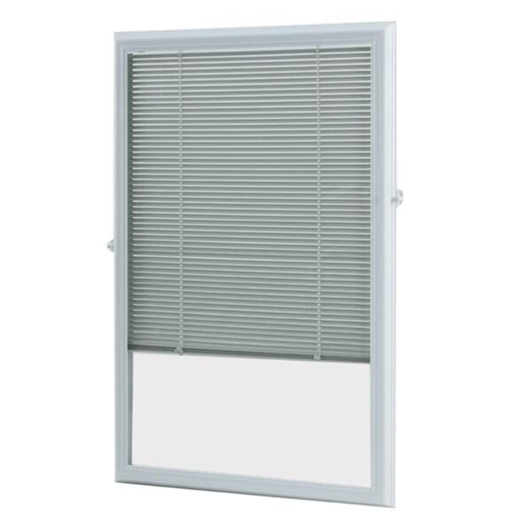 White Enclosed Door Blind (22 x 36)