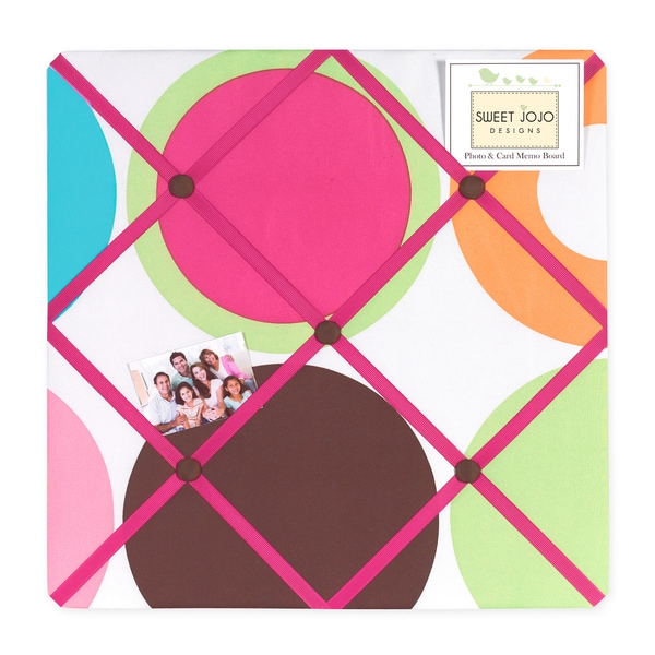 Sweet JoJo Designs Deco Dot Photo Bulletin Board