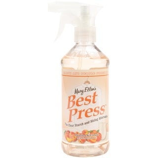 Mary Ellen's Best Press Clear Starch Alternative 16 Ounces-Peaches & Cream