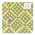 Sweet JoJo Designs Forest Friends Fabric Memory Board