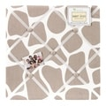 Sweet JoJo Designs Giraffe Tan Fabric Memory Board