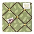 Sweet JoJo Designs Jungle Time Green Fabric Memory Board