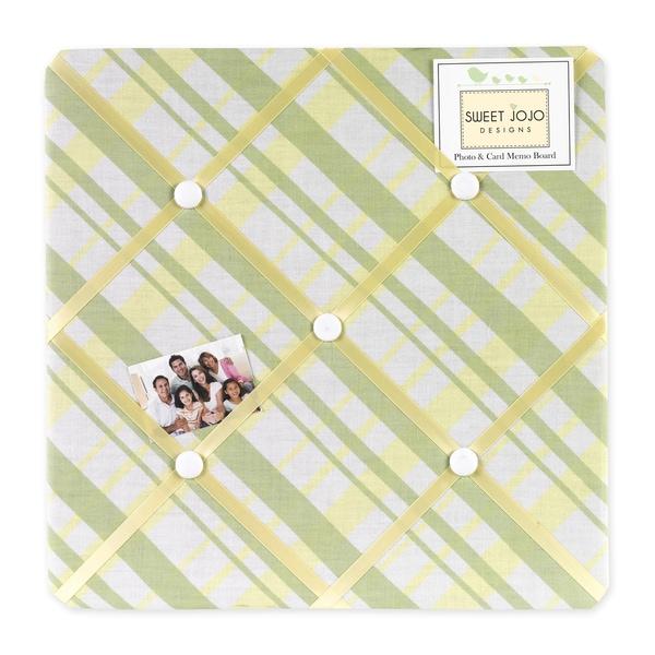 Sweet JoJo Designs Leap Frog Fabric Memory Board