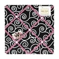Sweet JoJo Designs Madison Pink and Black Fabric Memory Board