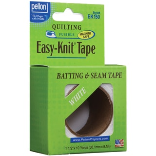 "Easy-Knit Batting & Seam Tape 1-1/2""X10 Yards-White"