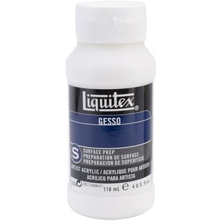 Liquitex Acrylic Gesso Surface Prep-White 4 Ounces