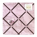 Sweet JoJo Designs Pink French Toile Bulletin Board