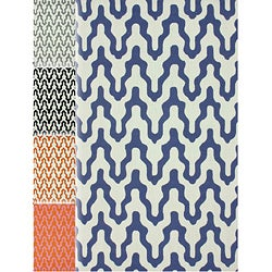 nuLOOM Handmade Modern Trellis Wool Rug (5' x 8')