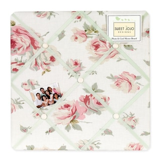 Sweet JoJo Designs Riley's Roses Fabric Bulletin Board