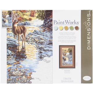 "Paint By Number Kit 16""X20""-Shallow Crossing"