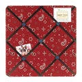 Sweet JoJo Designs Wild West Bandana Bulletin Board