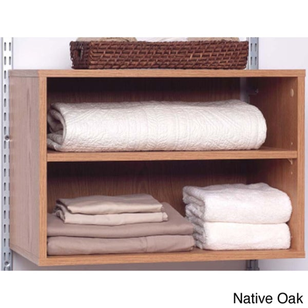 Talon Native Oak Open Shelf Organizer