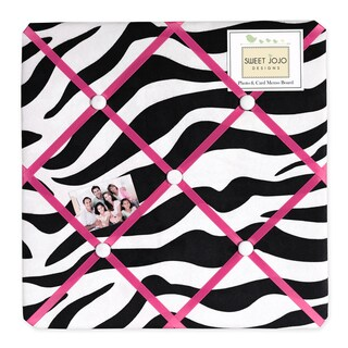 Sweet JoJo Designs Funky Zebra Bulletin Board