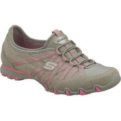 Women's Skechers Bikers Verified Gray/Pink
