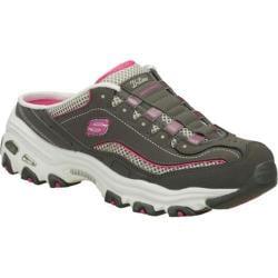 Women's Skechers D'lites Essential Gray/Pink