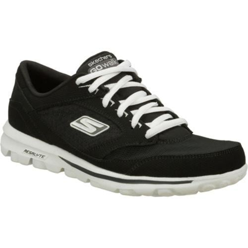 Women's Skechers GOwalk Baby Black/White