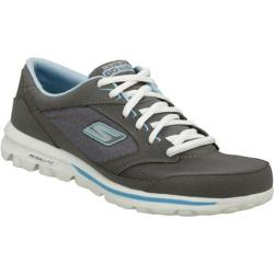 Women's Skechers GOwalk Baby Gray/Blue