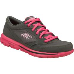 Women's Skechers GOwalk Baby Gray/Pink