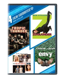 4 Film Favorites: Ben Stiller (DVD)