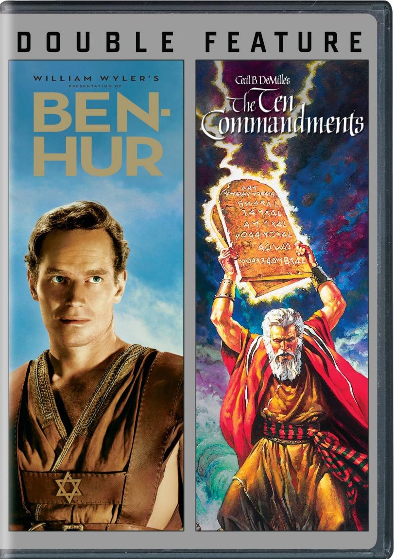 Ben Hur/Ten Commandments (DVD)
