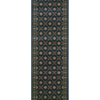 Rivington Vidor Imperial Blue Runner Rug