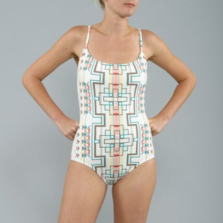 Anne Cole Multicolor Mojave Maillot 1-piece Swimsuit