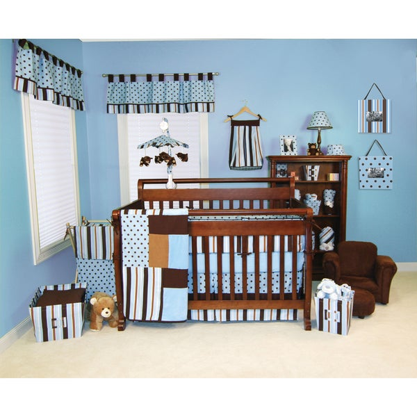 Trend Lab Max 5-piece Crib Bedding Set
