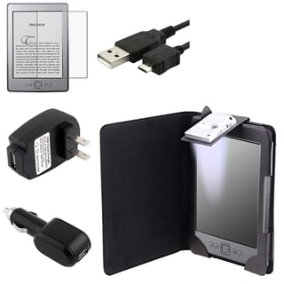 BasAcc Case/ Chargers/ Protector/ USB Cable for Amazon Kindle 4