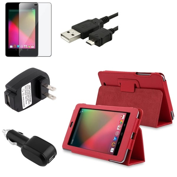 BasAcc Case/ Protector/ Cable/ Chargers for Google Nexus 7