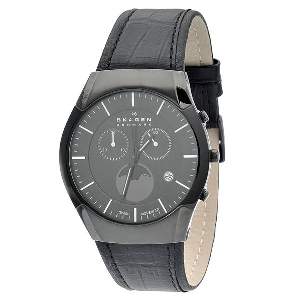 Skagen Men's Moonphase Chronograph Watch