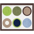 Sweet JoJo Designs Designer Dot Modern Cotton Floor Rug