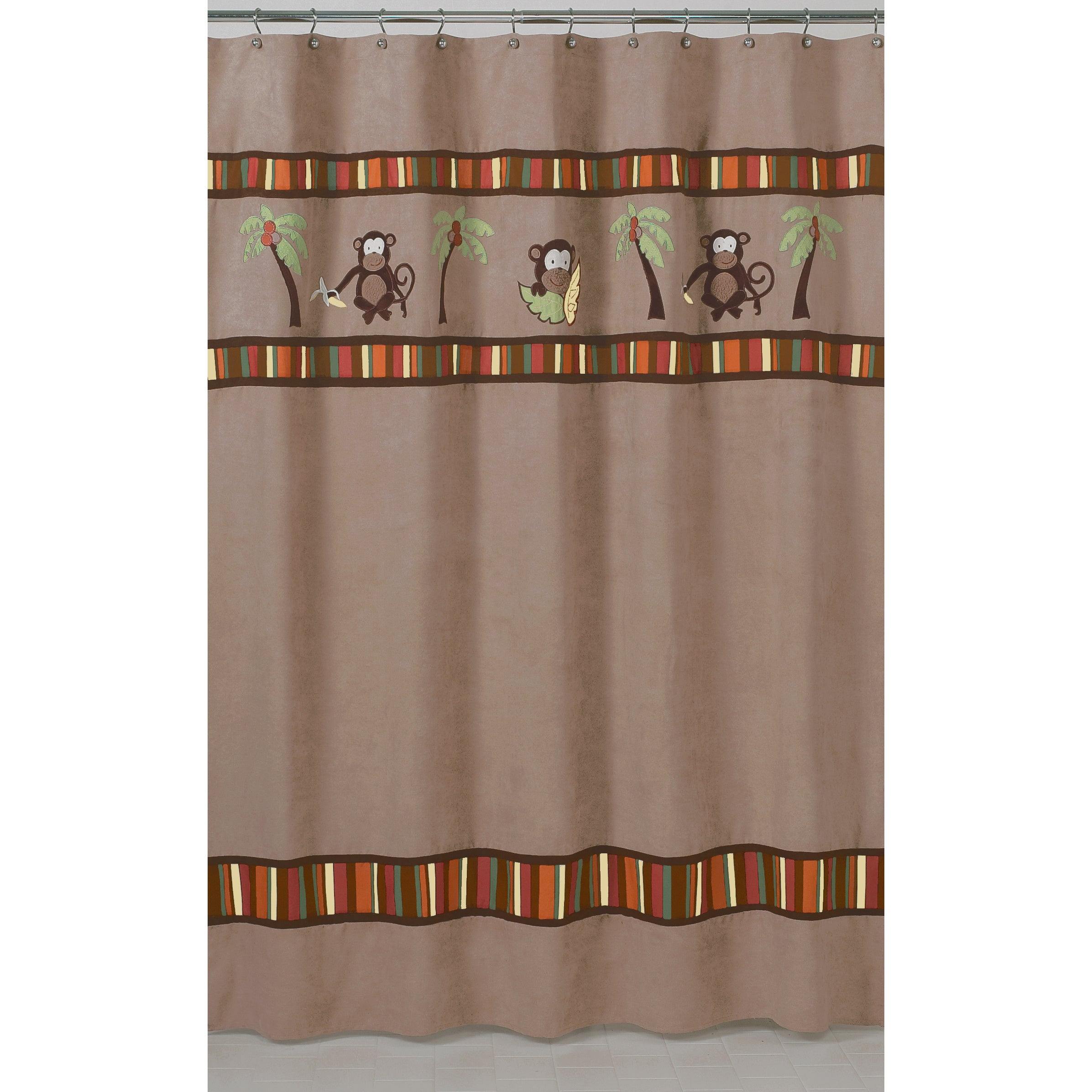 Sweet Jojo Designs Monkey Kids Shower Curtain at Sears.com