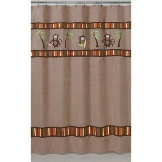 Monkey Kids Shower Curtain