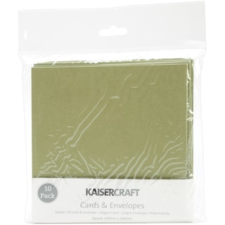 Square Card Pack-Olive
