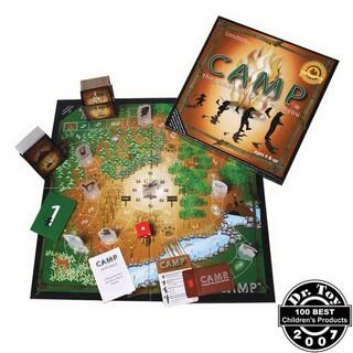 Original Camp Game Board
