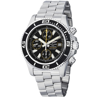 Breitling Men's 'SuperOcean Chrono' Stainless Steel Automatic Watch