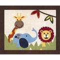 Sweet JoJo Designs Jungle Time Cotton Floor Rug