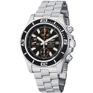 Breitling Men's 'SuperOcean Chrono' Black Dial Automatic Watch