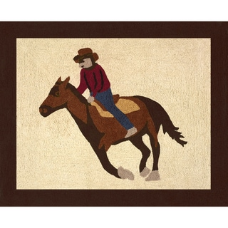 Sweet JoJo Designs Wild West Cowboy Floor Rug