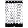 Sweet Jojo Designs Black and White Shower Curtain