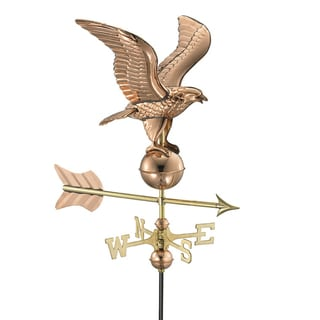 Copper Eagle Garden Weathervane
