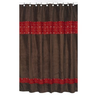 Wild West Cowboy Western Bandana Shower Curtain