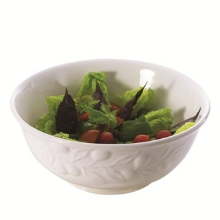 Red Vanilla Olive Tree 10.6-inch Serving Bowl