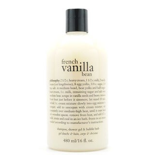 Philosophy French Vanilla Bean 16-ounce Shower Gel