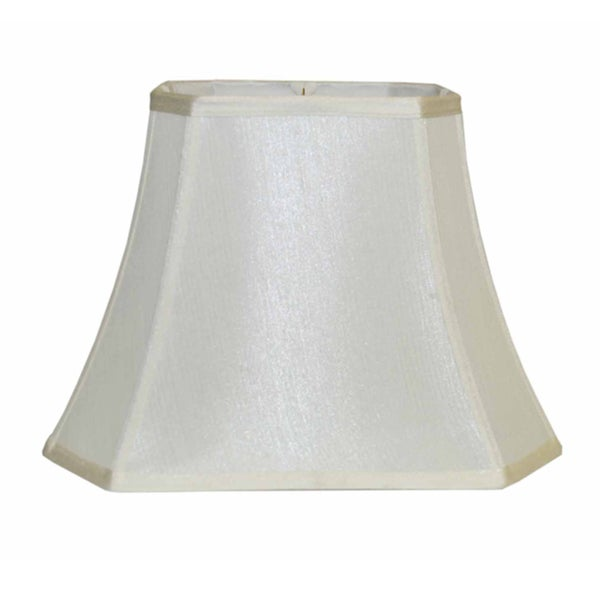 round off white empire silk lamp shade. Black Bedroom Furniture Sets. Home Design Ideas