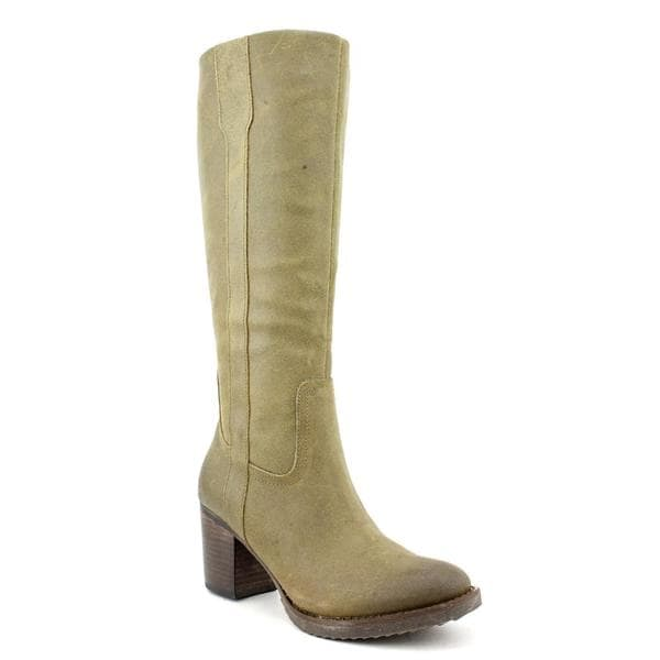 Aqua Women's 'Zion' Distressed Leather Boots